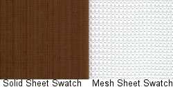 Solid Sheet and Aroma Mesh Sheet Swatch