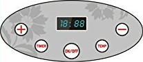 Samson Digital Control Panel with Adjustable Thermostat